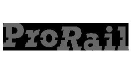 Premium Merk Prorail Logo Samenwerking BigFish Animatiestudio Grijs