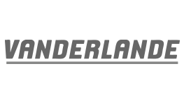 Premium Merk Vanderlande Logo Grijs Samenwerking BigFish Animatiestudio