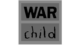 Premium Merk War Child Logo Grijs Samenwerking BigFish Animatiestudio