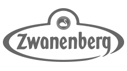 Premium Merk Zwanenberg Logo Grijs Samenwerking BigFish Animatiestudio